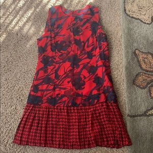 Abercrombie and Fitch red floral dress